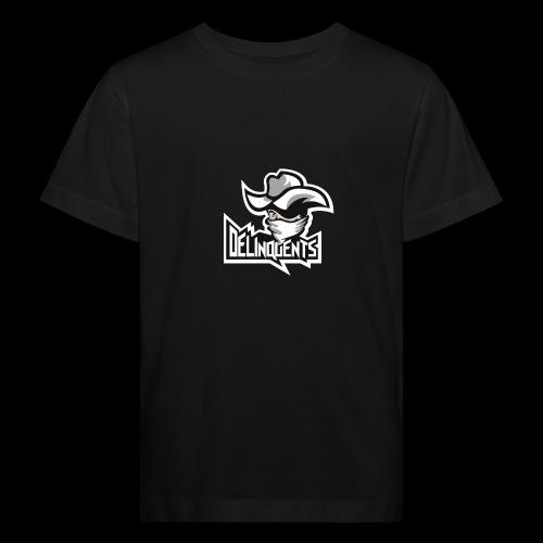 Delinquents Sort Design - Organic børne shirt