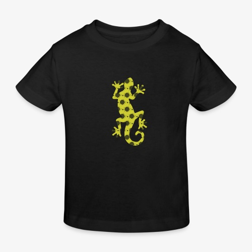 Groene hagedis - Kinderen Bio-T-shirt