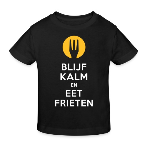 keep calm en eet frieten - T-shirt bio Enfant