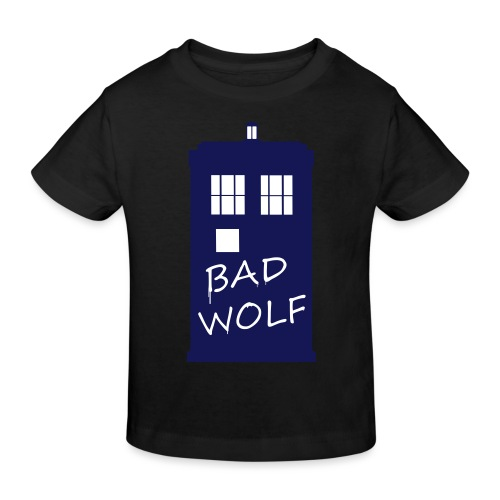Bad Wolf Tardis - T-shirt bio Enfant