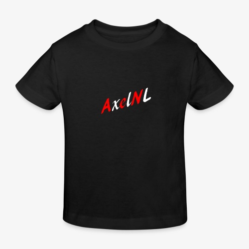 AxelNL - ROOD - Kinderen Bio-T-shirt