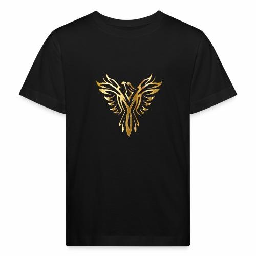 Złoty fenix - Ekologiczna koszulka dziecięca