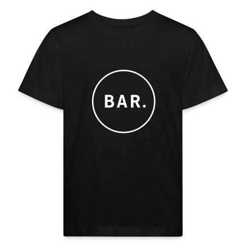 BAR Logo 1 farbig - Kinder Bio-T-Shirt