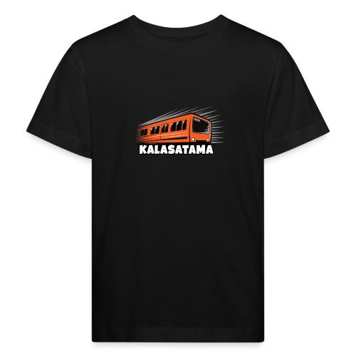 11- METRO KALASATAMA - HELSINKI - LAHJATUOTTEET - Lasten luonnonmukainen t-paita