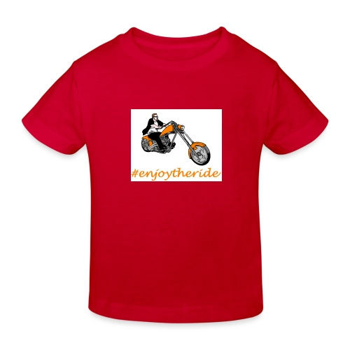 enjoytheride - T-shirt bio Enfant