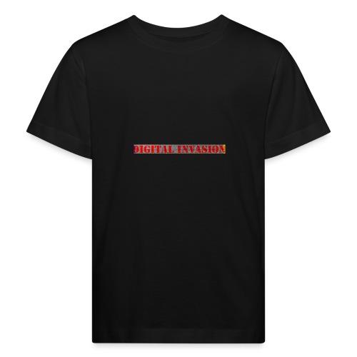 digitale Invasion - Kinder Bio-T-Shirt