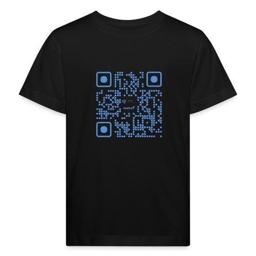 QR Maidsafe.net - Kids' Organic T-Shirt