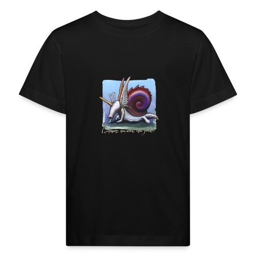 Unichiocciolo - Maglietta ecologica per bambini