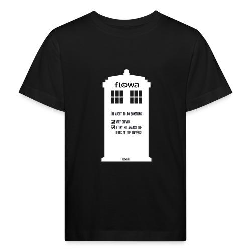 Flowa - Lasten luonnonmukainen t-paita