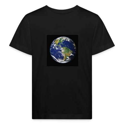 Wereld afdruk/print - Kinderen Bio-T-shirt