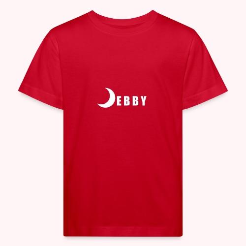 DEBBY - WHITE LOGO - Maglietta ecologica per bambini