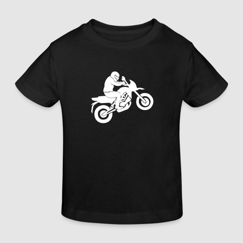 Motorradfahrer - Kinder Bio-T-Shirt