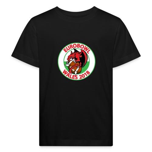 Eurobowl Wales 2018 - Kids' Organic T-Shirt