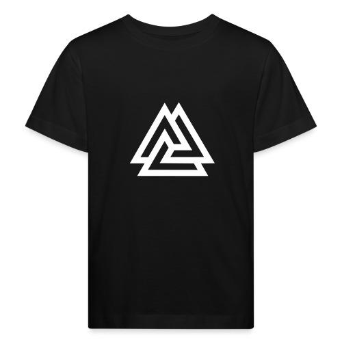 Valknut, Odin, Symbol, Wikinger, Nordisch, Kelten - Kinder Bio-T-Shirt