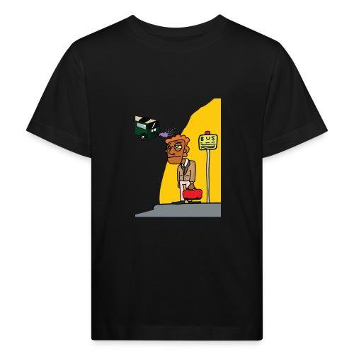 Bus stop - Kinderen Bio-T-shirt