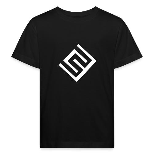 ChrisWhippit Logo Vit - Ekologisk T-shirt barn