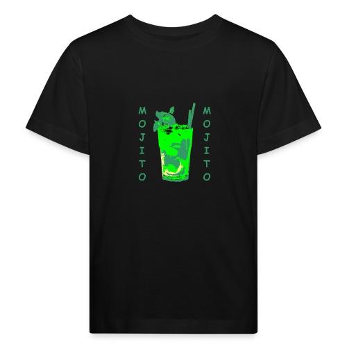 Mojito bicchiere colorato - Maglietta ecologica per bambini