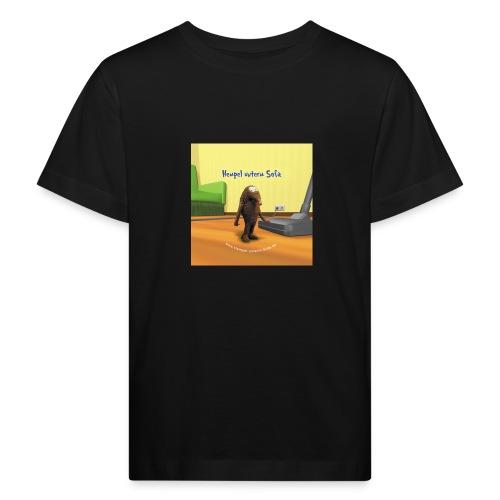 button cover - Kinder Bio-T-Shirt