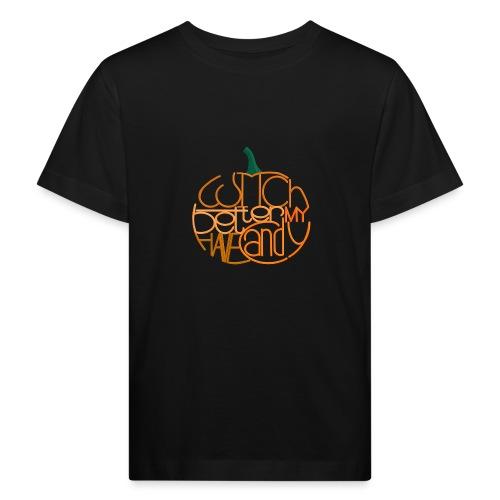 Græskar med citat - Organic børne shirt