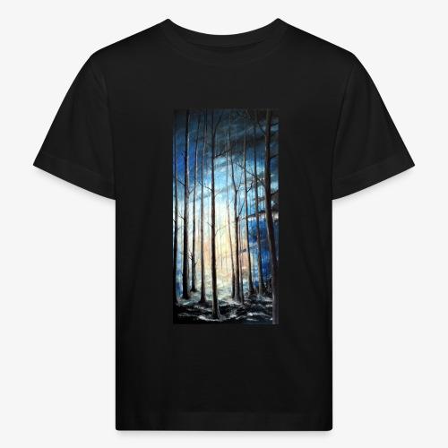 Sama w lesie - Ekologiczna koszulka dziecięca