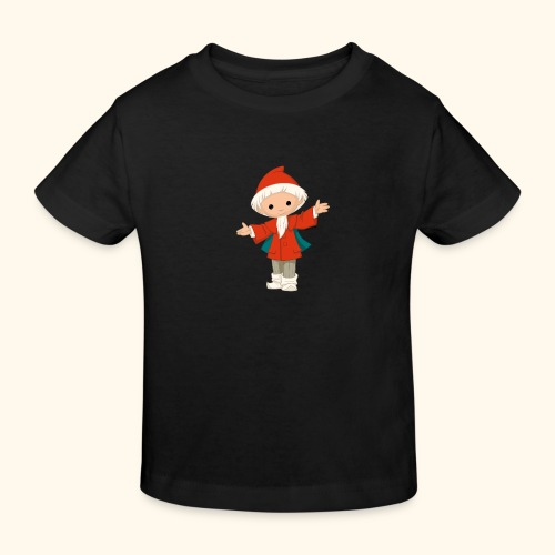 Sandmännchen Hallo! - Kinder Bio-T-Shirt