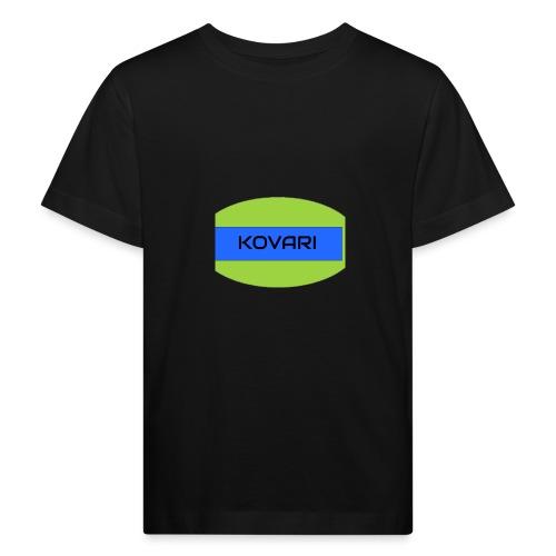 Kovari Logo - Lasten luonnonmukainen t-paita