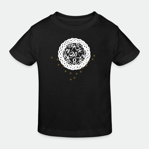 Snowflake Starglitter - Kids' Organic T-Shirt