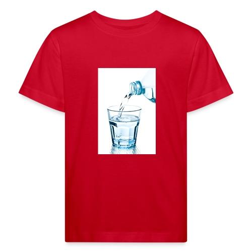 Glas-water-jpg - Kinderen Bio-T-shirt
