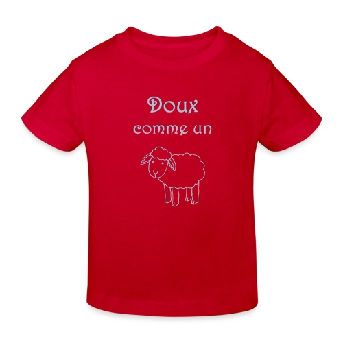 doux-comme-un-agneau-2 - T-shirt bio Enfant