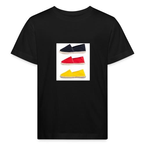 Deutschland Espadrilles jpg - Kinder Bio-T-Shirt