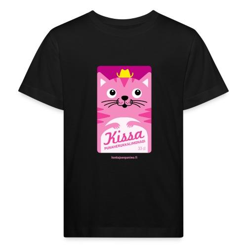 Kissa - Lasten luonnonmukainen t-paita