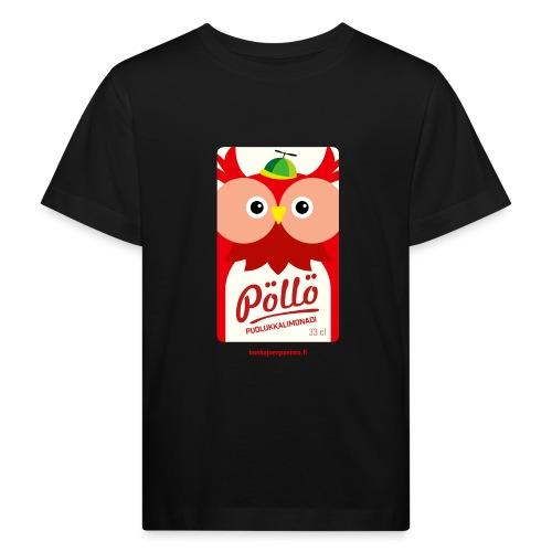 Pöllö - Lasten luonnonmukainen t-paita