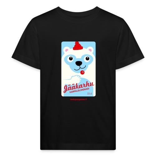Jääkarhu - Lasten luonnonmukainen t-paita