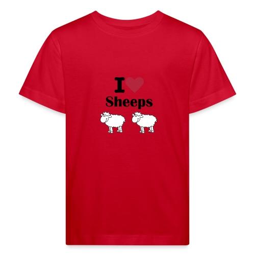 I-love-sheeps - T-shirt bio Enfant