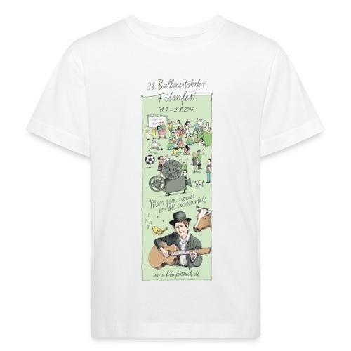 Motiv 2015 weiss - Kinder Bio-T-Shirt