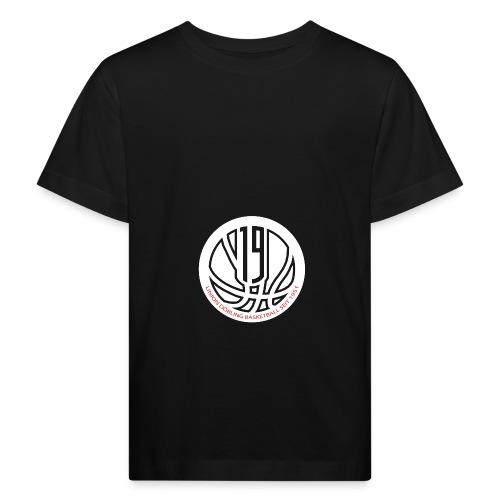 logo weiss - Kinder Bio-T-Shirt
