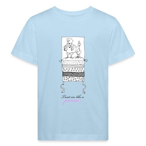 Treat Me Like a Princess - Poodle - Organic børne shirt