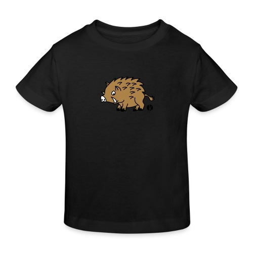 Wildschwein (c) - Willy Boar - Kinder Bio-T-Shirt