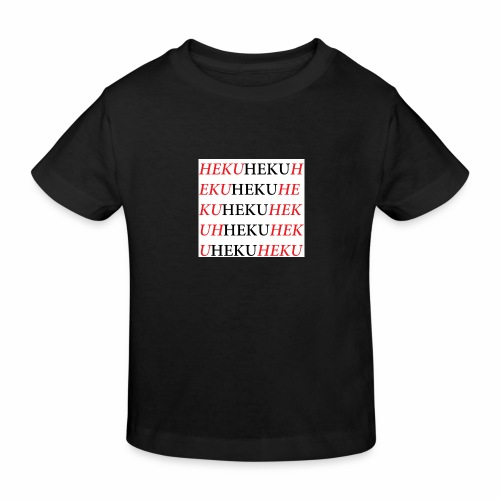 HekuHeku - Lasten luonnonmukainen t-paita
