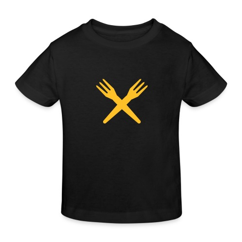gekruiste frietvorken - trident - T-shirt bio Enfant