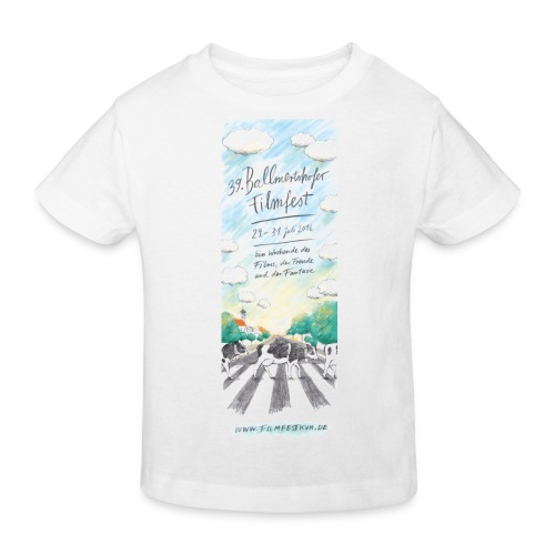 Ballmertshofer filmfest 2016 Flyer webA Shirt 1 - Kinder Bio-T-Shirt