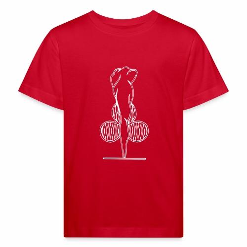 Riihimäen Erätytöt ry logo - Lasten luonnonmukainen t-paita