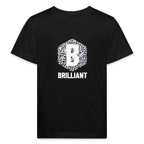 B brilliant white - Kinderen Bio-T-shirt