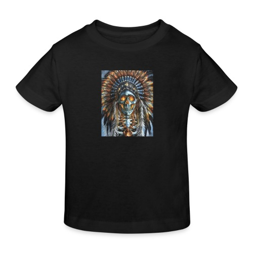 jefe indio - Camiseta ecológica niño