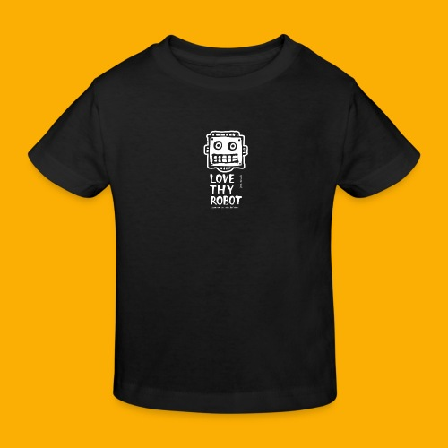 Dat Robot: Support this cute face - Kinderen Bio-T-shirt