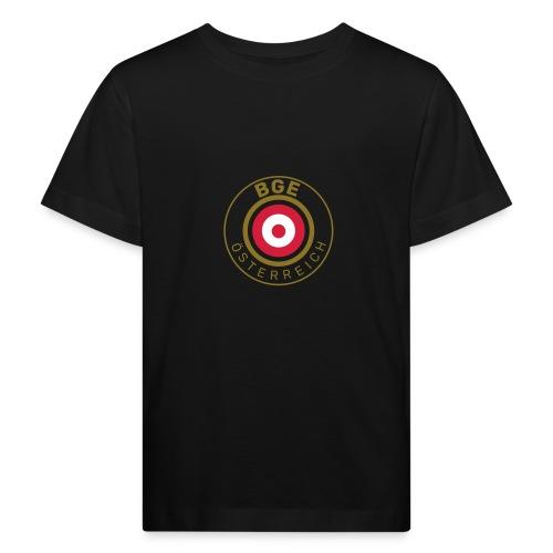 BGE in Österreich mit Fahne - Kinder Bio-T-Shirt