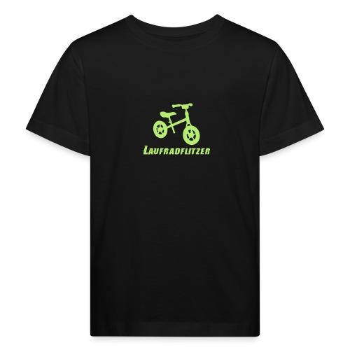 Laufradflitzer - Kinder Bio-T-Shirt