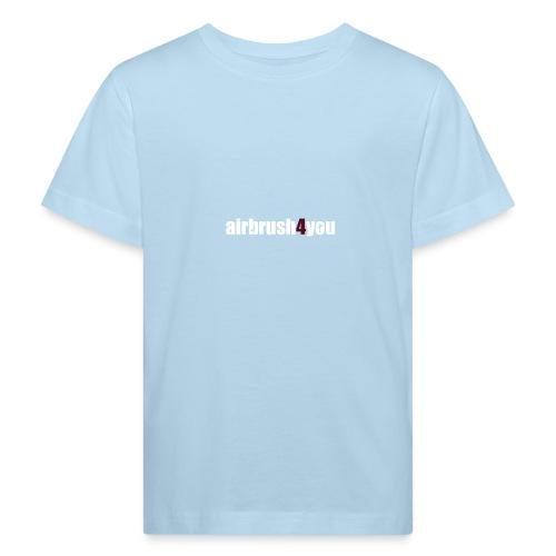 Airbrush - Kinder Bio-T-Shirt
