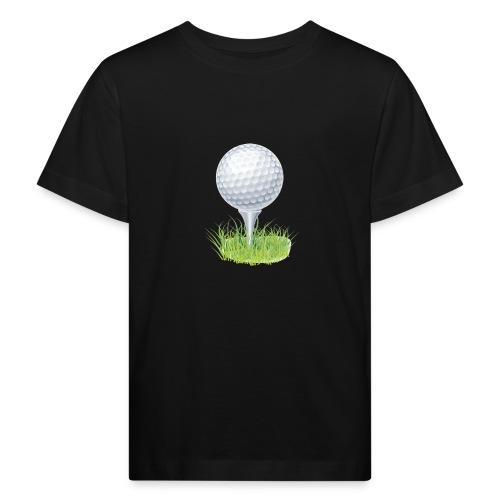 Golf Ball PNG Clipart - Camiseta ecológica niño