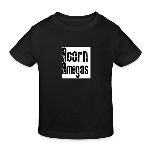 acorn amigos badge - Ekologisk T-shirt barn